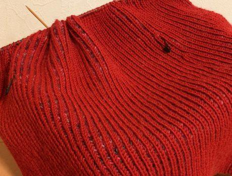 修行、これも修行・・・ブリオッシュ編み